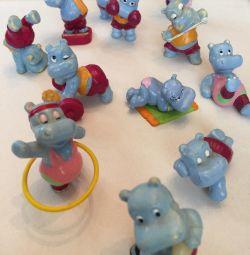 Kinder Figürleri Koleksiyonu