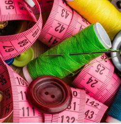 Clothing repair, sewing pillows