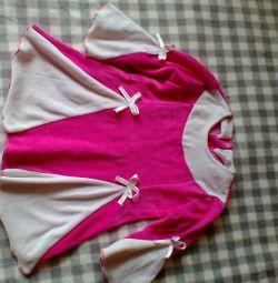 Παιδικό βελούδο φόρεμα