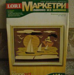 New set-Marquetri-Panel of veneer. (4+)