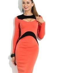 ΝΕΟ φόρεμα Donna Saggia, μοντέλο DSP-109-31t, 46р.