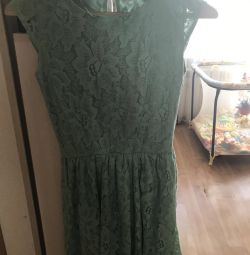 Turcoazul trageți poartă rochie