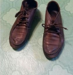 Moccasins. Genuine Leather.