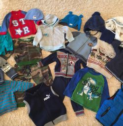 Branded things for a boy from 1 -2 years