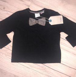 Longsleeve Zara pentru copii mici 12-18 luni noi