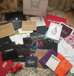 Τσάντες και κουτιά δώρων