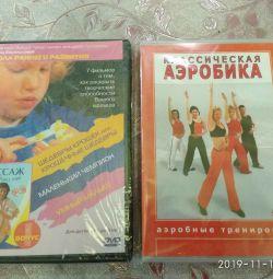 New DVDs Aerobics, Massage and Creativity