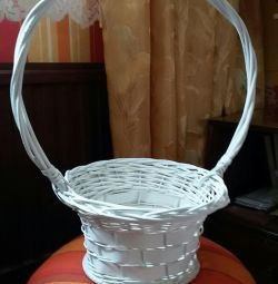 Decorative baskets for flowers
