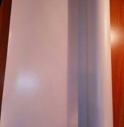 Awning material pvc 650gr 8,20m × 0,55cm, 9m × 0.50s