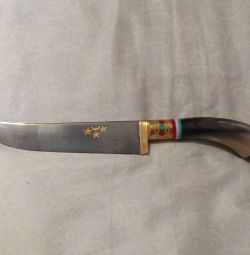 Kitchen knife Pchak Bull Horn