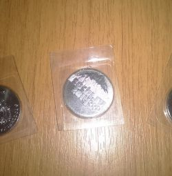 Coins Olympic Sochi 2014