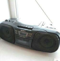 Sony radio (radio, CD, cassette)