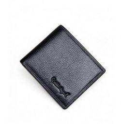 Γνήσια δερμάτινη τσάντα πορτοφολιών πορτοφολιών των ανδρών