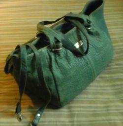 Δερμάτινη τσάντα Nina Begesh
