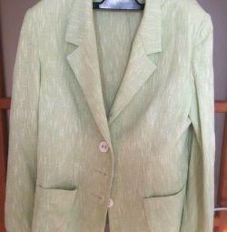 Jachetă de in