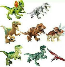 Lego Dinozorlar 8 rakamlar.