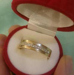Χρυσό δαχτυλίδι ανδρών