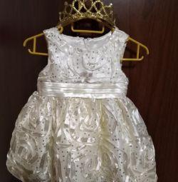 Rochie de petrecere (6-9 luni)