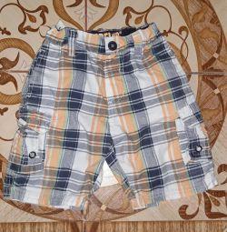 Детские шорты rebel 2-3 года