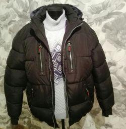 Куртка на хутрі 52-й нова