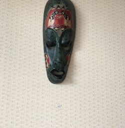 Mask african motifs