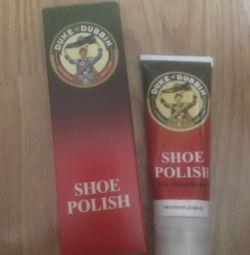 Крем для обуви. Цвет белый shoe polish