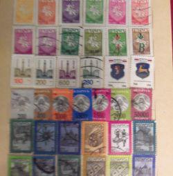 марки поштові країн СНД
