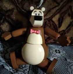 Wooden toy-bear