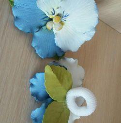 Flori. Rezinochki. agrafele