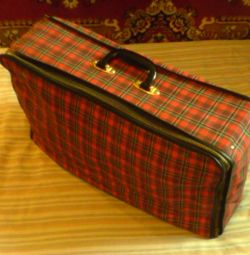 Suitcase tissue portable 55h34h14 cm