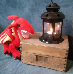 Lamp - candlestick