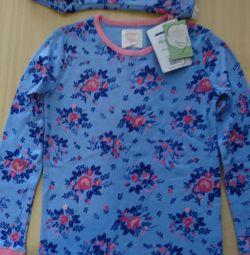 Νέα γερμανική πιτζάμες κοριτσιών