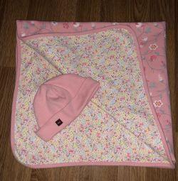 Одеялко и шапочка