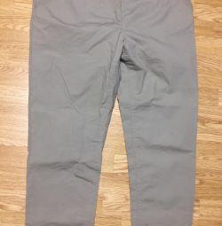 Pantaloni pentru femei, noi, bej, 52-54
