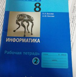 Informatics 8 class workbook 2nd part of the Federal State Educational Standard