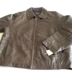 Jacket. Men's Leather Xl / xg new 140 cm obh