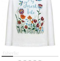 Μπλούζα για ένα κορίτσι από τον Faberlic