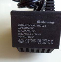 Power supply SALCOMP M-CA35-09312D 9.3V 210mA