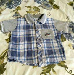 Oğlan için gömlek