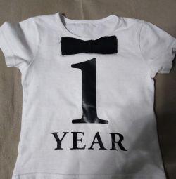 Tricou pentru un an