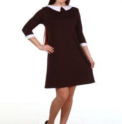 Платье новое коричневое
