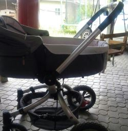 Stroller cradle + walk