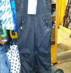 Ski (self dumping) pants