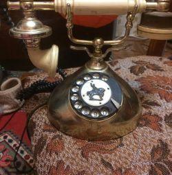 Ρετρό τηλέφωνο εργασίας, vintage