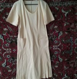 Knitted dress summer USSR size 46