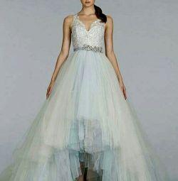 Свадебное платье цветное Lazaro 3414