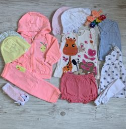 Summer package for a girl of 6-12 months