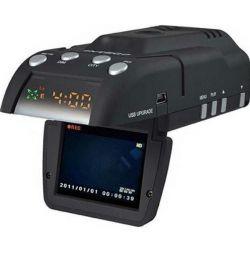 DVR GPS cu detector radar XPX G530-STR