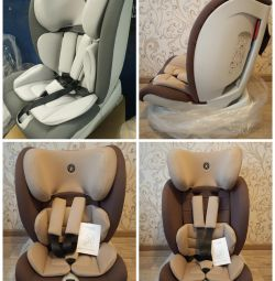 New awesome car seat 1-12 years old with isofix