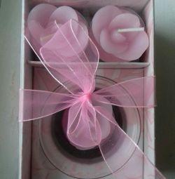 Набір подарункових свічок.